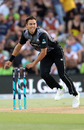Trent Boult bagged the solitary wicket of Faheem Ashraf, Pakistan v New Zealand, 3rd T20I, Mount Maunganui, Jan 28, 2018