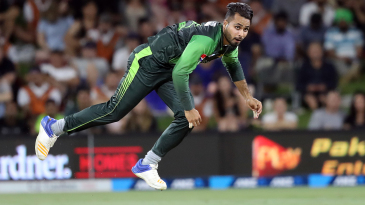 Faheem Ashraf dismissed Kane Williamson early