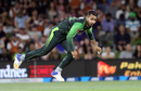 Faheem Ashraf dismissed Kane Williamson early, Pakistan v New Zealand, 3rd T20I, Mount Maunganui, Jan 28, 2018