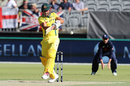 Marcus Stoinis took his chance well when promoted to No. 3, Australia v England, 5th ODI, Perth, January 28, 2018