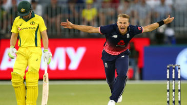 Tom Curran's five-for sealed a thrilling 12-run win
