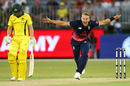 Tom Curran's five-for sealed a thrilling 12-run win, Australia v England, 5th ODI, Perth, January 28, 2018