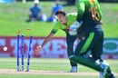 Muhammad Musa runs Prithvi Shaw out, Pakistan v India, U-19 World Cup semi-final, Christchurch, January 30, 2018