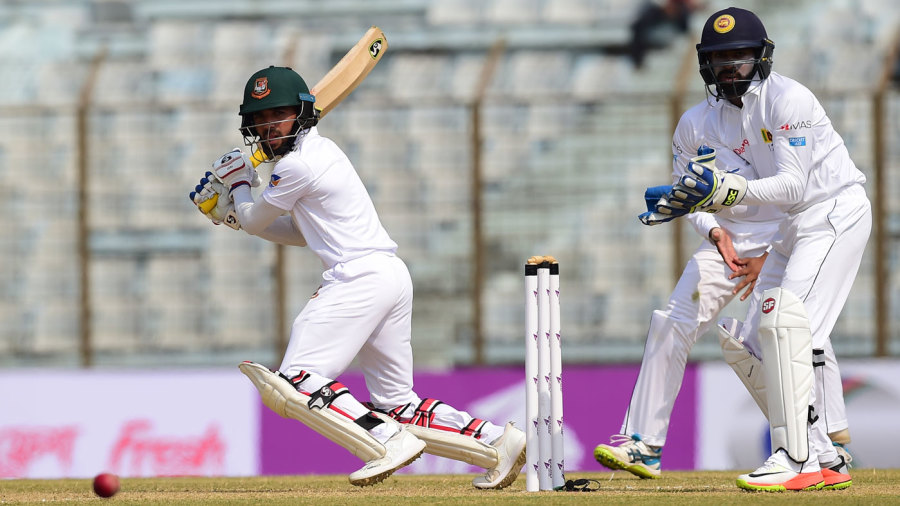 Mominul Haque slices behind point