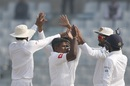 Rangana Herath dismissed Mominul Haque for 176, Bangladesh v Sri Lanka, 1st Test, Chittagong, 2nd day, February 1, 2018