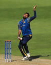 Seekkuge Prasanna in action for Sri Lanka, Sri Lanka vs New Zealand, Champions Trophy warm-up, Edgbaston, May 30, 2017
