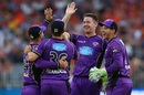 Tom Rogers removed Perth Scorchers' top three, Perth Scorchers v Hobart Hurricanes, BBL 2017-18 semi-final, Perth