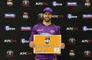 Matthew Wade was named Player of the Match for his punchy 71, Perth Scorchers v Hobart Hurricanes, BBL 2017-18 semi-final, Perth