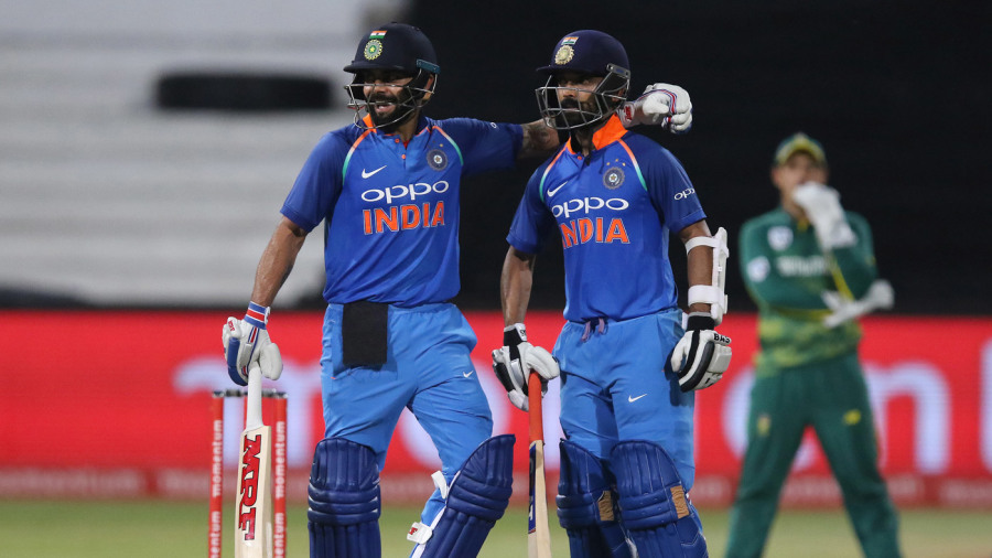 Virat Kohli and Ajinkya Rahane added 189