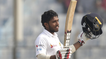 Kusal Mendis scored a century on his 23rd birthday