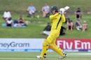 Jack Edwards unfurls a pull, Australia v India, Under-19 World Cup, final, Mount Maunganui, February 3, 2018