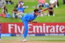 Kamlesh Nagarkoti sends one down, Australia v India, Under-19 World Cup, final, Mount Maunganui, February 3, 2018