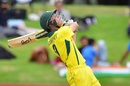 Nathan McSweeney skies a pull, Australia v India, Under-19 World Cup, final, Mount Maunganui, February 3, 2018