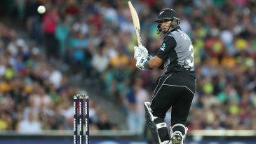 Ross Taylor worked to get the innings going