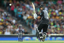 Ross Taylor worked to get the innings going, Australia v New Zealand, Trans-Tasman T20, Sydney, February 3, 2018