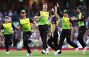 Billy Stanlake picked up three wickets in his opening spell, Australia v New Zealand, Trans-Tasman T20, Sydney, February 3, 2018