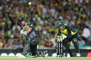 Colin De Grandhomme unleashed a few big hits, Australia v New Zealand, Trans-Tasman T20, Sydney, February 3, 2018