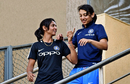 Harmanpreet Kaur and Smriti Mandhana chat, Mumbai, January 20, 2018