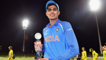Shubman Gill was named player of the tournament