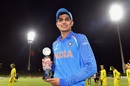Shubman Gill was named player of the tournament, Australia v India, Under-19 World Cup, final, Mount Maunganui, February 3, 2018