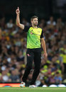 Andrew Tye picked up four wickets, Australia v New Zealand, Trans-Tasman T20, Sydney, February 3, 2018