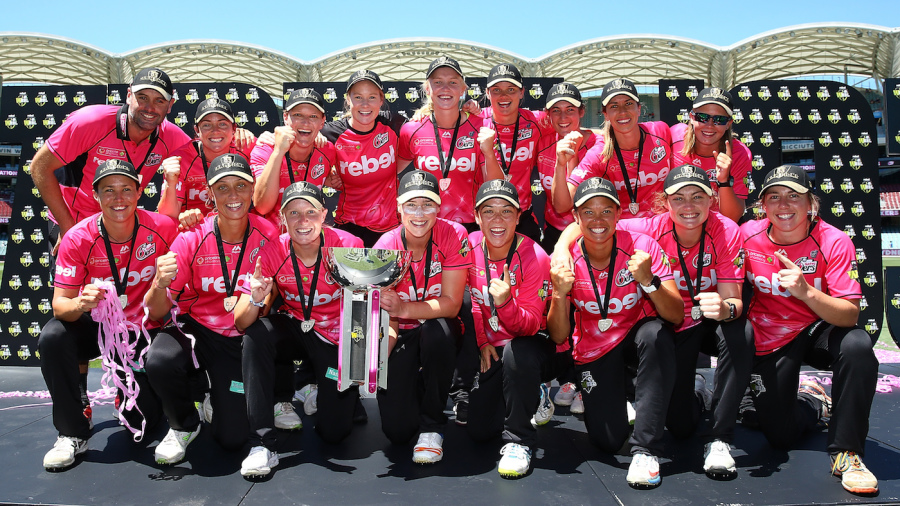 Sydney Sixers won their second straight title