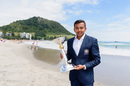 Prithvi Shaw is all smiles with the Under-19 World Cup trophy, Under-19 World Cup, Tauranga, February 4, 2018