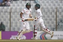 Liton Das and Mahmudullah run between the wickets, Bangladesh v Sri Lanka, 1st Test, Chittagong, 5th day, February 4, 2018