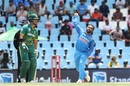 Kedar Jadhav sends one down, South Africa v India, 2nd ODI, Centurion, February 4, 2018