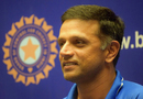 Rahul Dravid sports a smile at the post-arrival press conference of the India Under-19 team, Mumbai, February 5, 2018