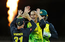 Ashton Agar put the skids under England's innings, Australia v England, 2nd match, T20 Tri-Series, Hobart, February 7, 2018