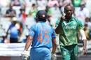 Kohli v Rabada: the battle continues in Cape Town