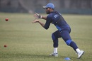 Roshen Silva prepares to take a catch, Mirpur, February 7, 2018