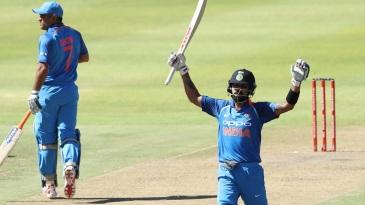 Virat Kohli soared to another hundred