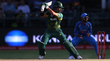 JP Duminy followed his two wickets up with a half-century