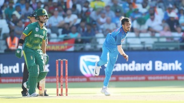 Yuzvendra Chahal collected four wickets