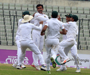 Abdur Razzak tied up Sri Lanka's batsmen in his first Test in four years, Bangladesh v Sri Lanka, 2nd Test, Mirpur, 1st day, February 8, 2018