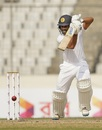Roshen Silva punches through the off side, Bangladesh v Sri Lanka, 2nd Test, Mirpur, 1st day, February 8, 2018