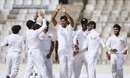 Suranga Lakmal celebrates a wicket, Bangladesh v Sri Lanka, 2nd Test, Mirpur, 1st day, February 8, 2018