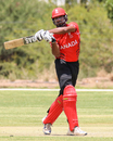 Ruvindu Gunasekera pulls hard for another boundary, Canada v Oman, ICC World Cricket League Division Two, Windhoek, February 8, 2018