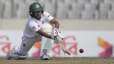 Mehidy Hasan Miraz was not out on 38