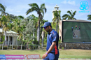 Saurabh Netravalkar walks back to his fielding position, Leeward Islands v USA, Regional Super50, Coolidge, January 31, 2018