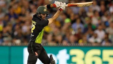 Glenn Maxwell continued his rich vein of form
