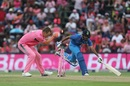 Chris Morris runs out Bhuvneshwar Kumar, South Africa v India, 4th ODI, Johannesburg, February 10, 2018