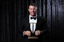 David Warner received the ODI Player of the Year award, Melbourne, February 12, 2018