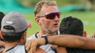 Dougie Brown's time in the multicultural atmosphere at Warwickshire helped him bond with the UAE squad