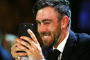 A wink as Glenn Maxwell is snapped, Melbourne, February 12, 2018