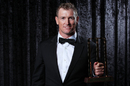 George Bailey was named men's domestic player of the year at the Allan Border Medal night, Melbourne, February 12, 2018