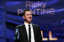 Ricky Ponting was inducted into the Hall of Fame at the 2018 Allan Border Medal night, Melbourne, February 12, 2018