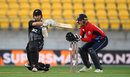 Kane Williamson swivels to pull, New Zealand v England, Trans-Tasman tri-series, Wellington, February 13, 2018